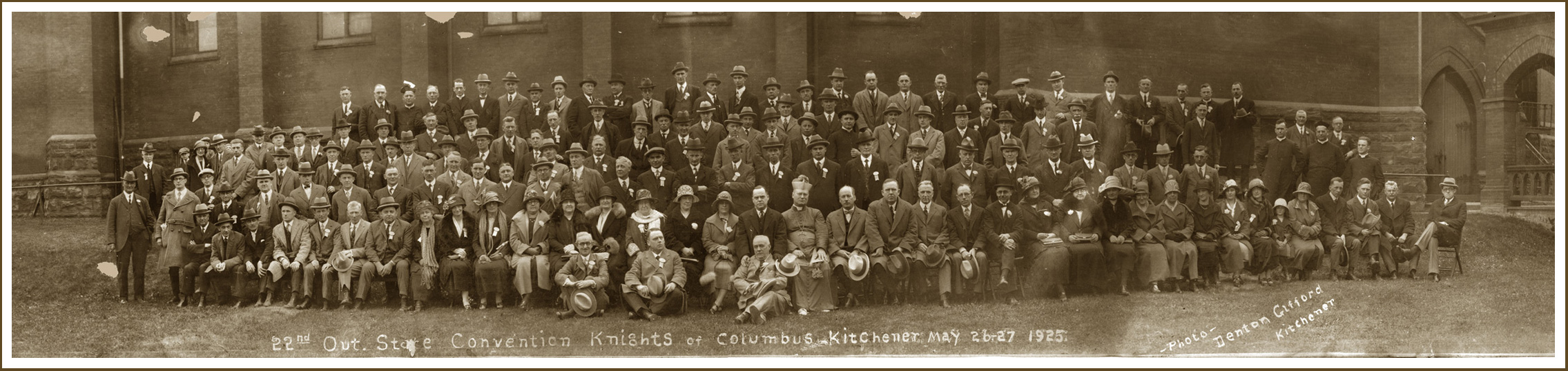 22nd Annual State Convention, Kitchener 1925