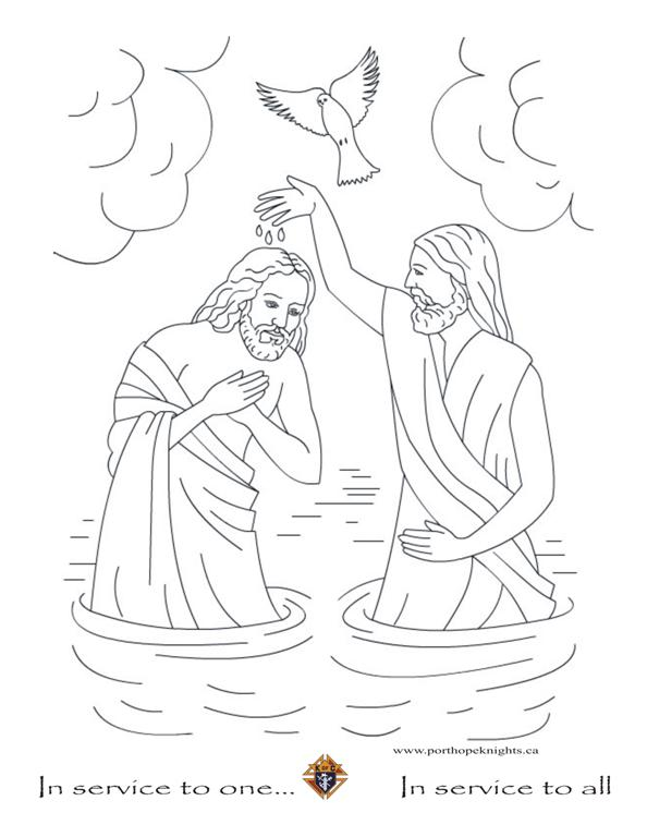 Jesus In The Manger John Baptizes