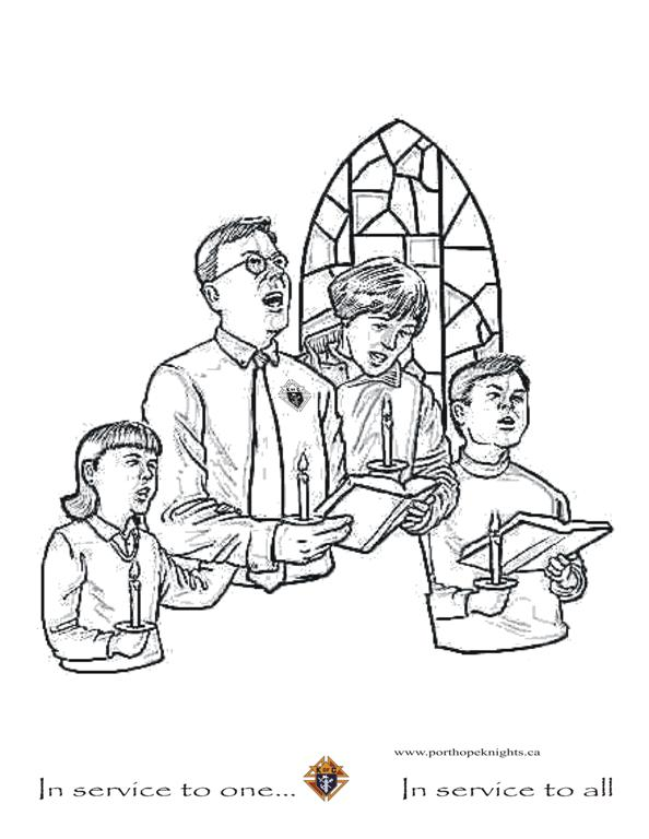 catholic mass coloring pages - photo#12